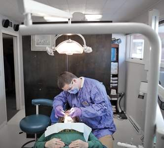 Demand for services skyrockets at Health Net dental clinic
